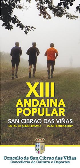 XIII Andaina San Cibrao das Viñas @ Area recreativa daBoutureira | San Ciprián de Viñas | Galicia | España
